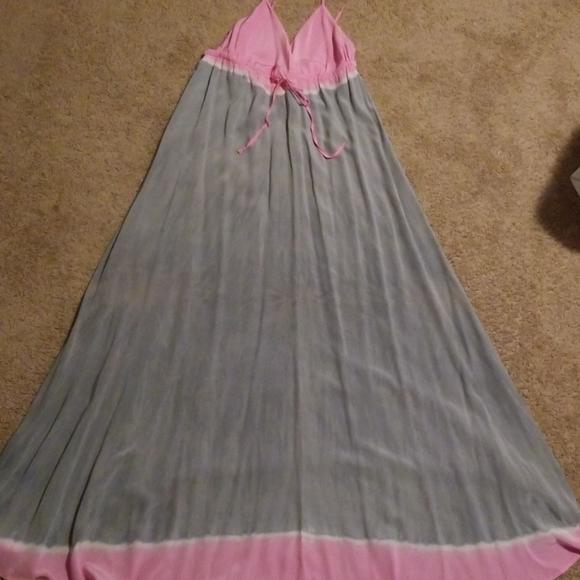 Gypsy 05 Dresses & Skirts - Gypsy 05 💯% silk tie dye maxi slip dress